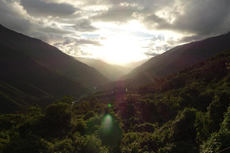 Rio Lucumayo Valley