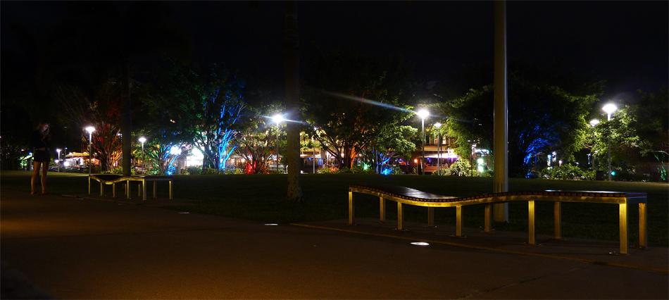 Nighttime Promenade