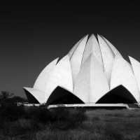 Lotus Temple, New Delhi, India, 2011