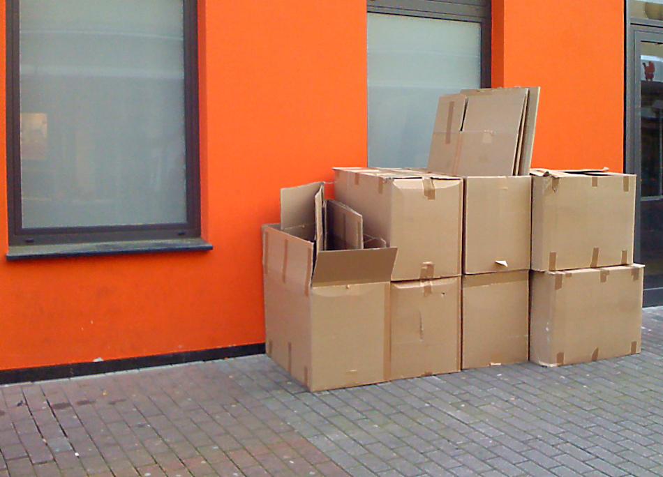 Orange & Boxes