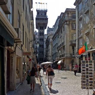 Baixa, Lisboa, Portugal, 2009