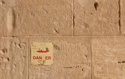 'Danger' - El Jem, Tunisia, 2008