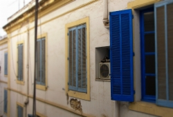 'Windows, shoes & an air condition' - Tunis, Tunisia, 2008