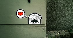 'Where's the love?'   -   Paderborn, Germany, 2011