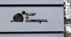 'Sleep is ...' - Berlin, Germany, 2011
