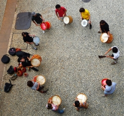 'Drumming' - São Paulo, Brazil, 2009