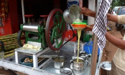 'Sugar cane juice' - Colem, Goa, India, 2011