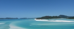 'Whitsunday Island' - Whitsunday Island from Tongue Point, Queensland, Australia, 2012