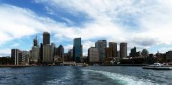 'Leaving Circular Quay' - Sydney, Australia, 2012