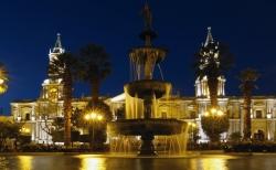 'Plaza de Armas' - Arequipa, Peru, 2013