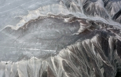 """The Colibri"" - Nazca Lines, Nazca, Peru, 2013"