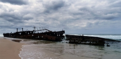 'Shipwrecked' - Maheno Shipwreck, Fraser Island, Queensland, Australia, 2012