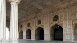 'White hall' - Red Fort, Agra, Uttar Pradesh, India, 2011