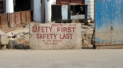 'Safety' - Connaught Circus, Delhi, India, 2011