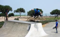 'Jump' - Costa Verde Skate Park, Miraflores, Lima, Peru, 2013