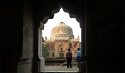'Mausoleum' - Bara Gumbad to Shish Gumbad, Lodi Gardens, South Deli, India, 2011