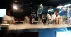'Freezin'' - Liquid nitrogen ice cream shop, Haymarket, Sydney, Australia, 2012