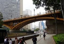 'Viaduto do Chá' - Viaduto do Chá, Parque Anhangabaú, São Paulo, Brazil, 2009