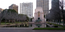 'The pool of reflections' - Hyde Park, Sydney, Australia, 2012